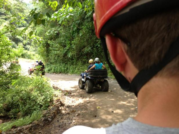 ATV ride through the jungles