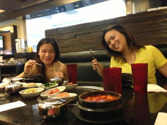 Late night Korean BBQ