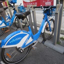 Using the Vélo Bleu (City Bikes) in Nice