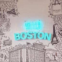 Back in Boston